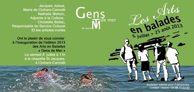 Vernissage Arts en Balades 2013