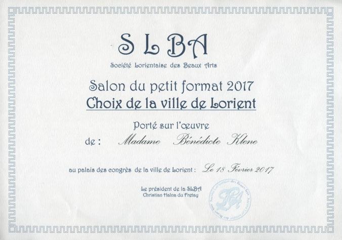 Prix SLBA001
