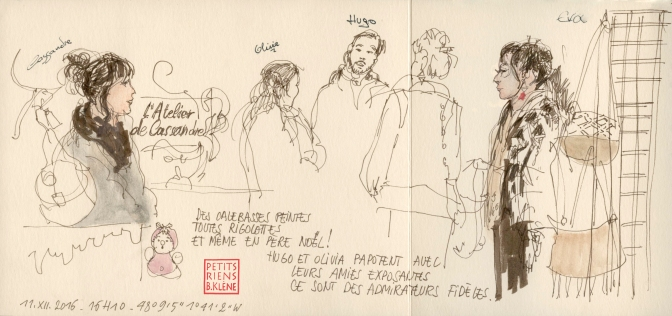 Les Petits Riens © Bénédicte Klène. 2016