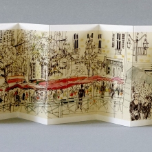 Les Petits Riens de Rennes. Au marché des Lices. Texte de Marie T. Lambert