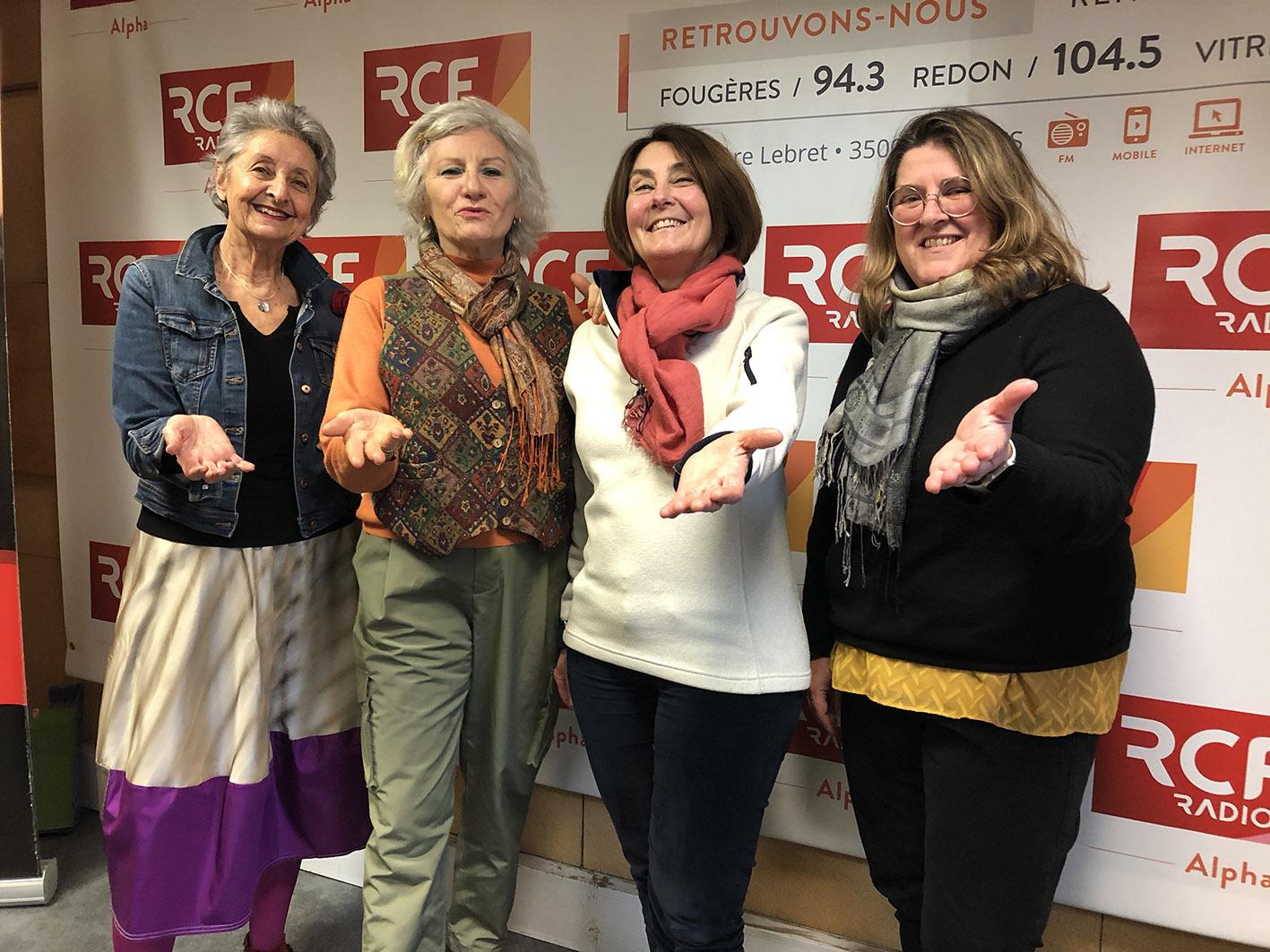 Emission Carré VIP de Marie Christine Biet sur RCF